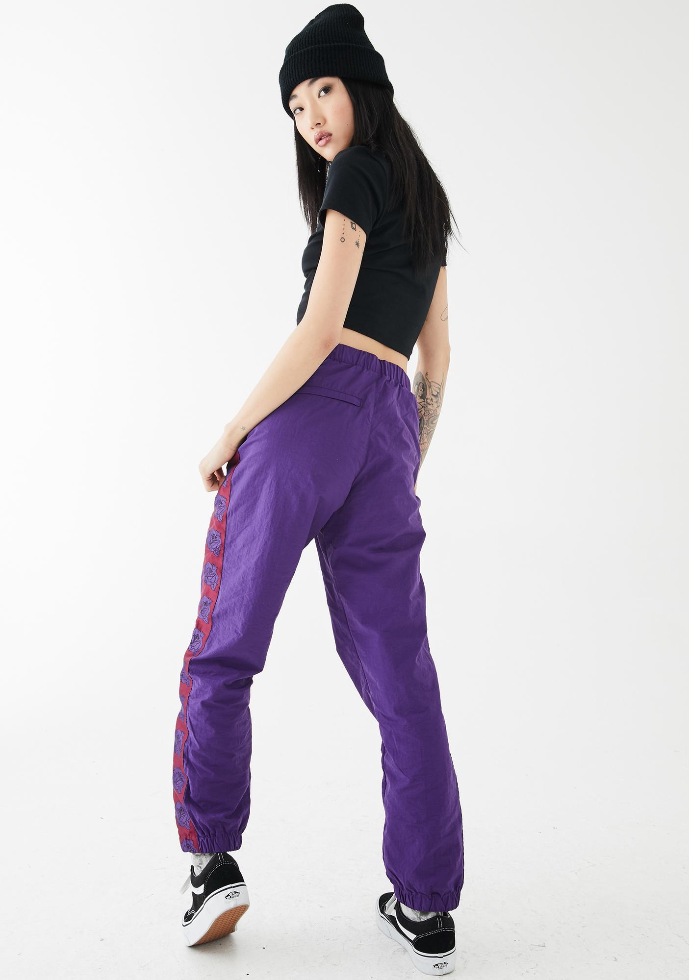 By Samii Ryan Rose Nylon Track Pants