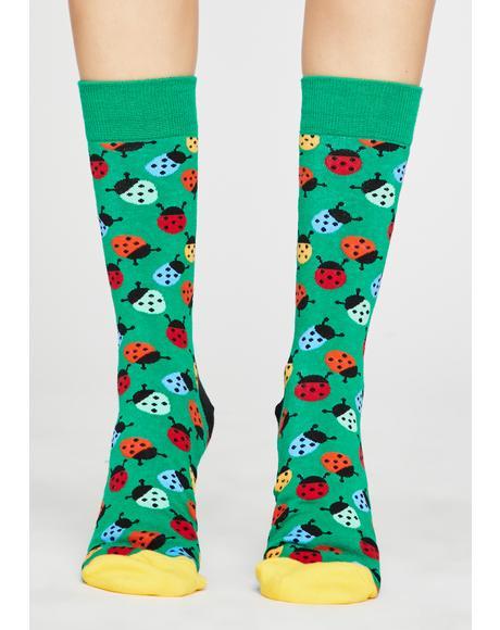 Bug A Boo Crew Socks