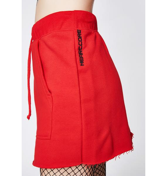 Local Heroes Heartcore Red Skirt