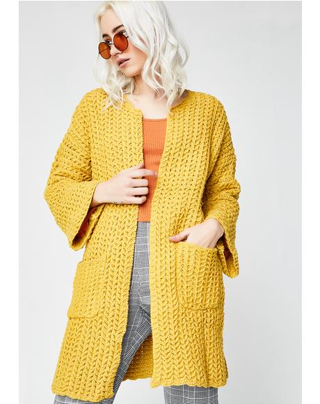 Sun Rising Long Cardigan