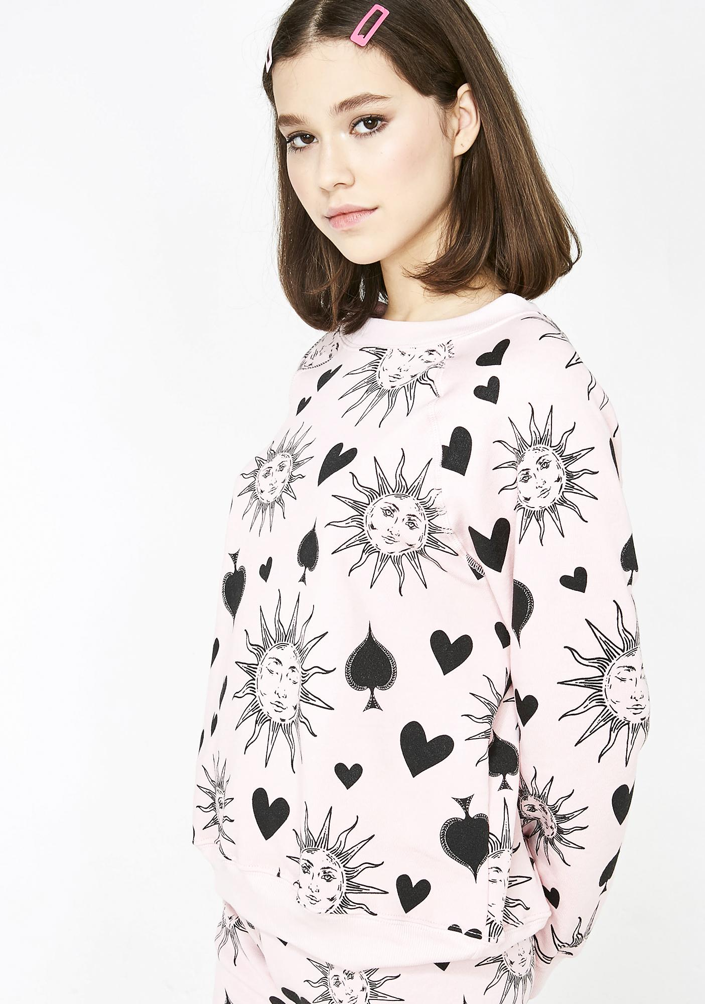Wildfox Couture Ace Of Spades Sommers Sweater