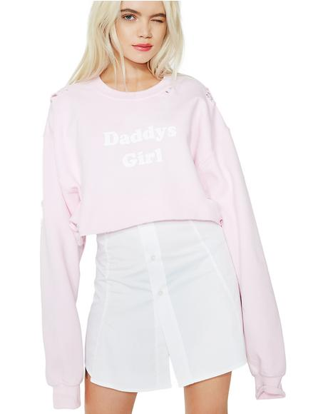 Daddy's Girl Crop Top