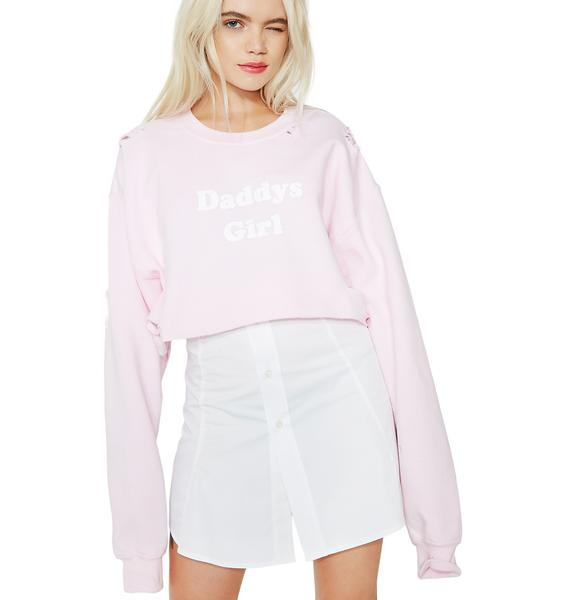 Untitled & Co Daddy's Girl Crop Top