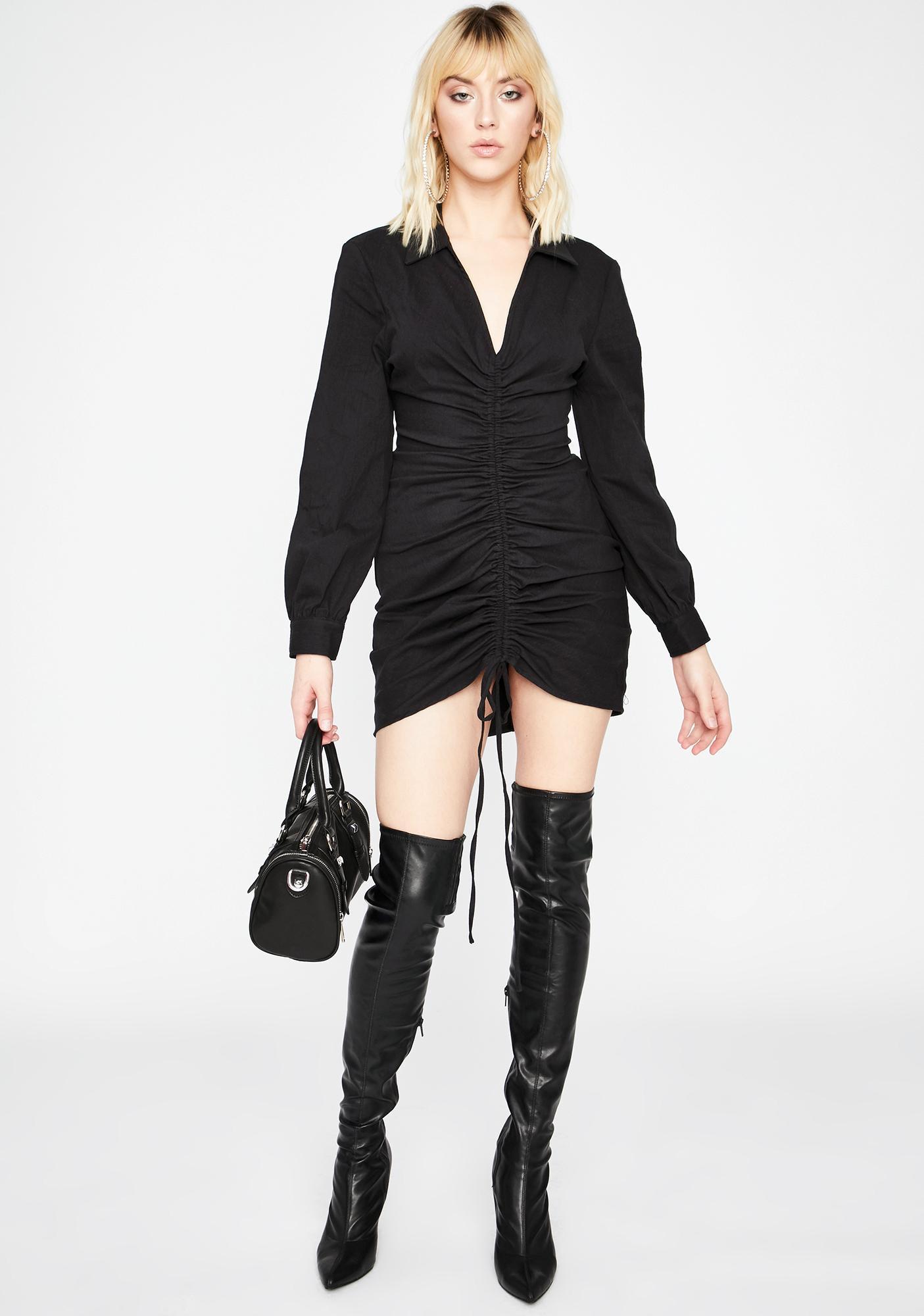 Sinnin' Big Boss Lady Mini Dress