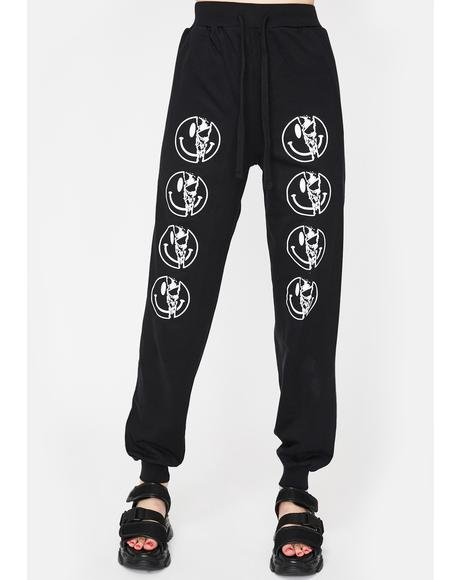 Killer Smiley Jogger Sweatpants