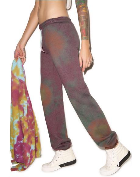 Purple Haze Sweat Pants