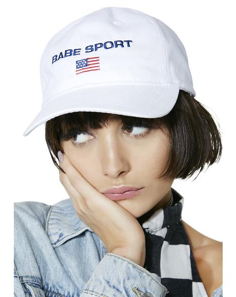 Babe Sport Dad Hat