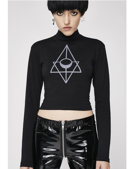 Order Of The Moon Crop Top