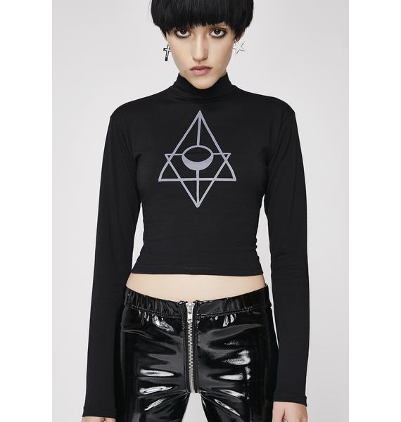 Rogue + Wolf Order Of The Moon Crop Top
