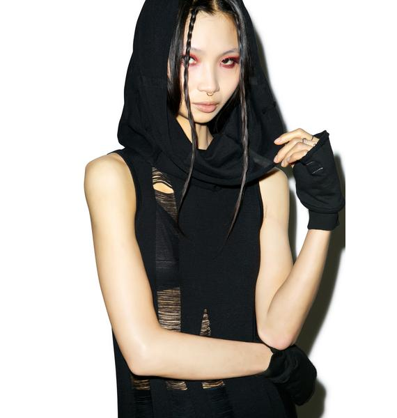 Widow (old) Propaganda Sleeveless Hooded Dress