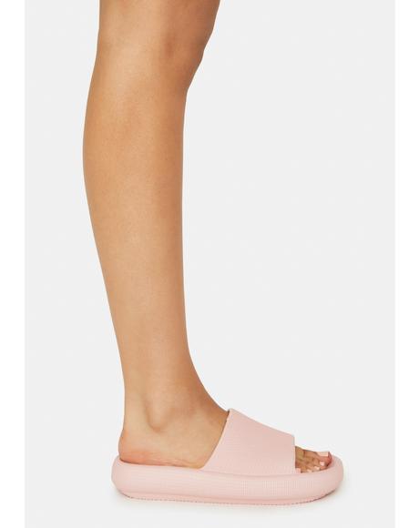 Pink Scuba Slides