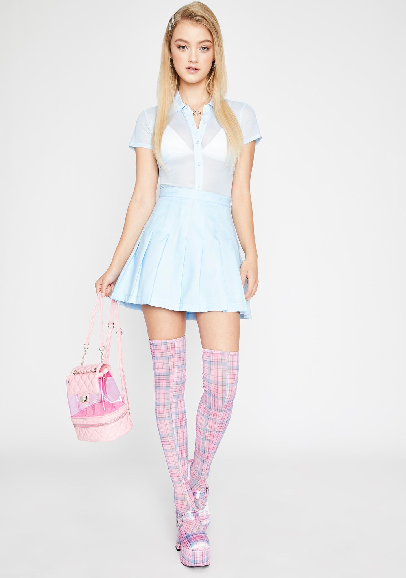 Sugar Thrillz Kind Of A Big Deal Mini Skirt