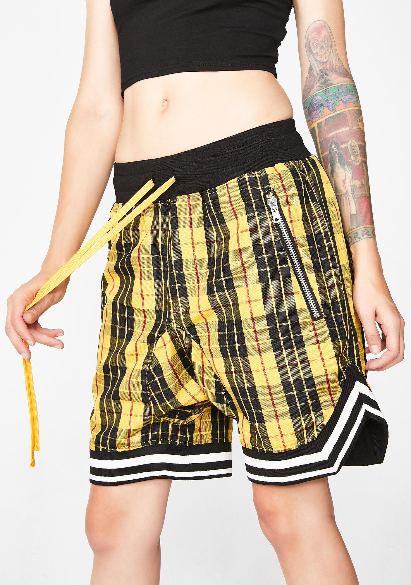 Civil Clothing Mulholland Plaid Shorts