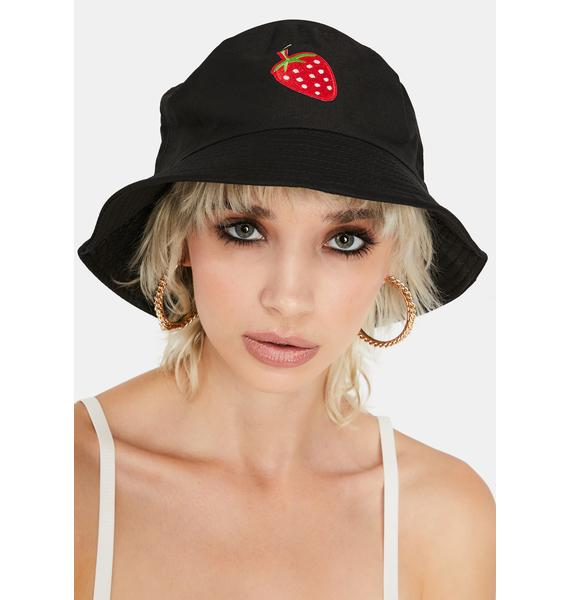 Super Sweet Strawberry Bucket Hat