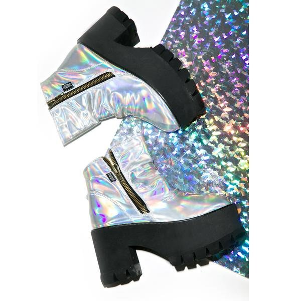 Hot!MeSS Spaced Out Platform Boots