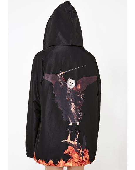 Hell Pit Hooded Coach Jacket