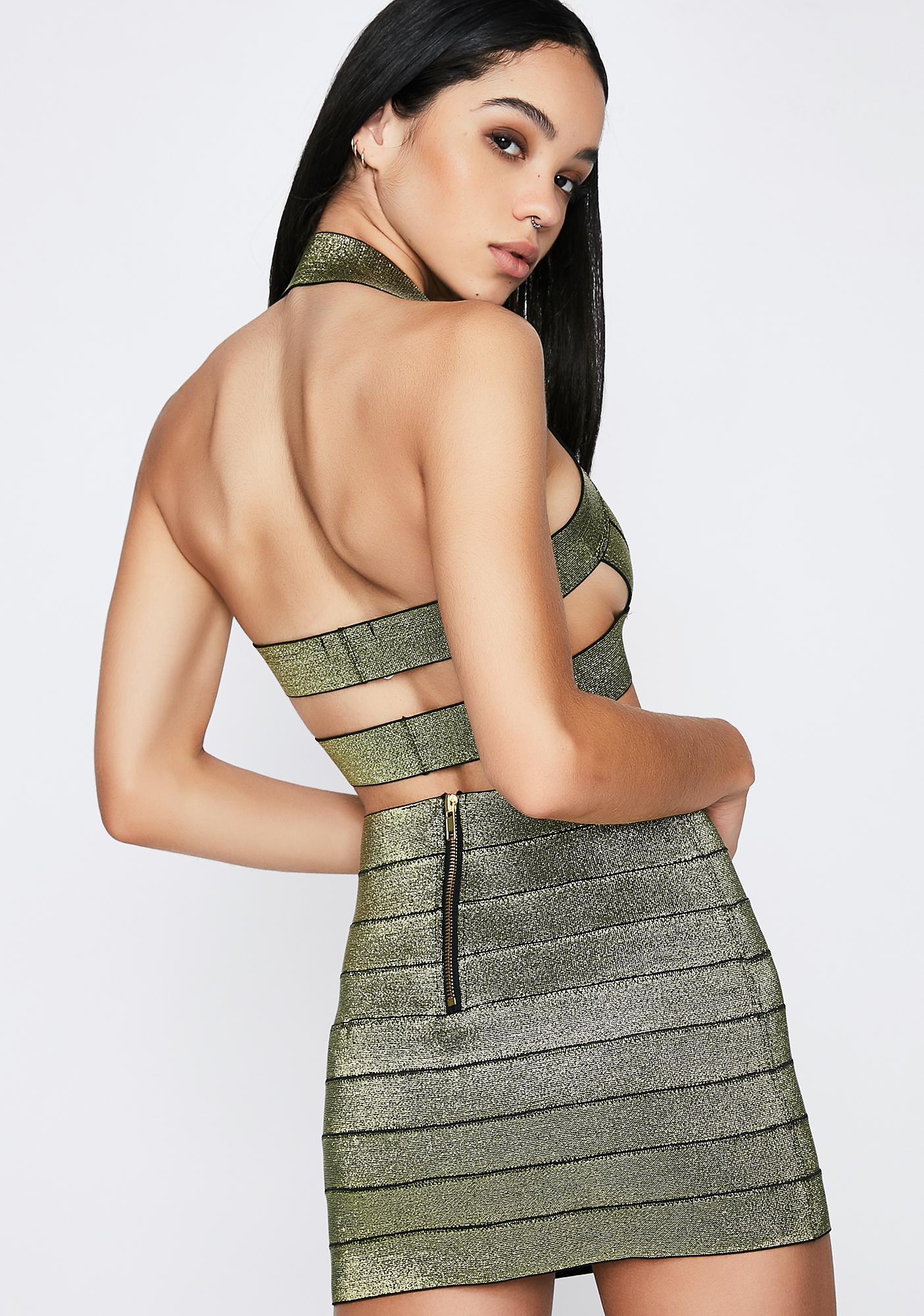 Poster Grl Winning Babe Mini Skirt