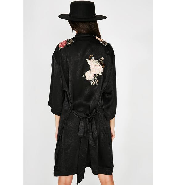 Daily Slay Floral Kimono