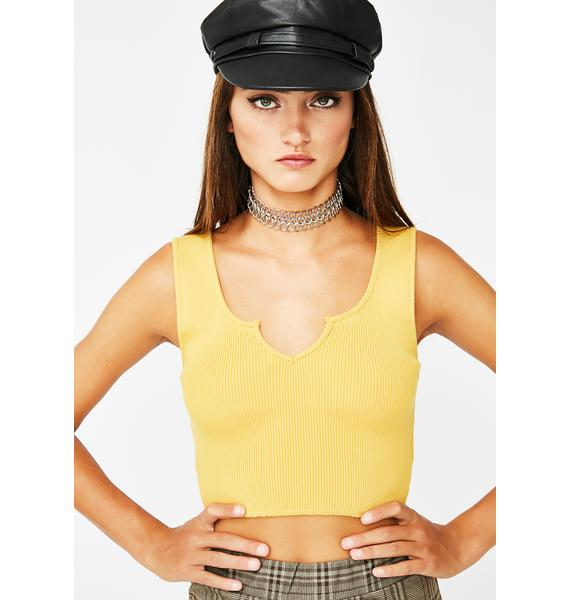 Basic Finesse Crop Top