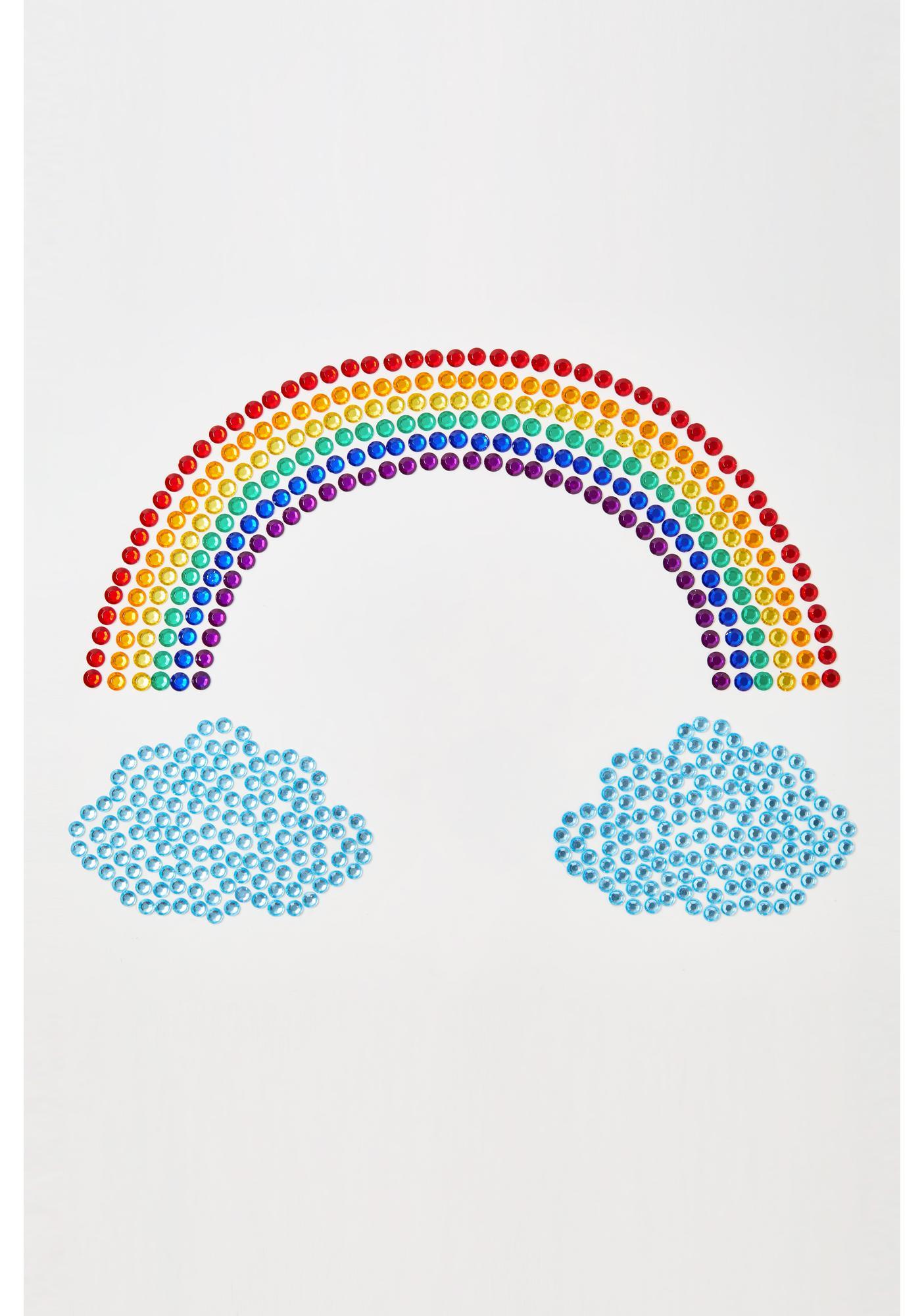 Neva Nude Over The Rainbow Body Gems Set