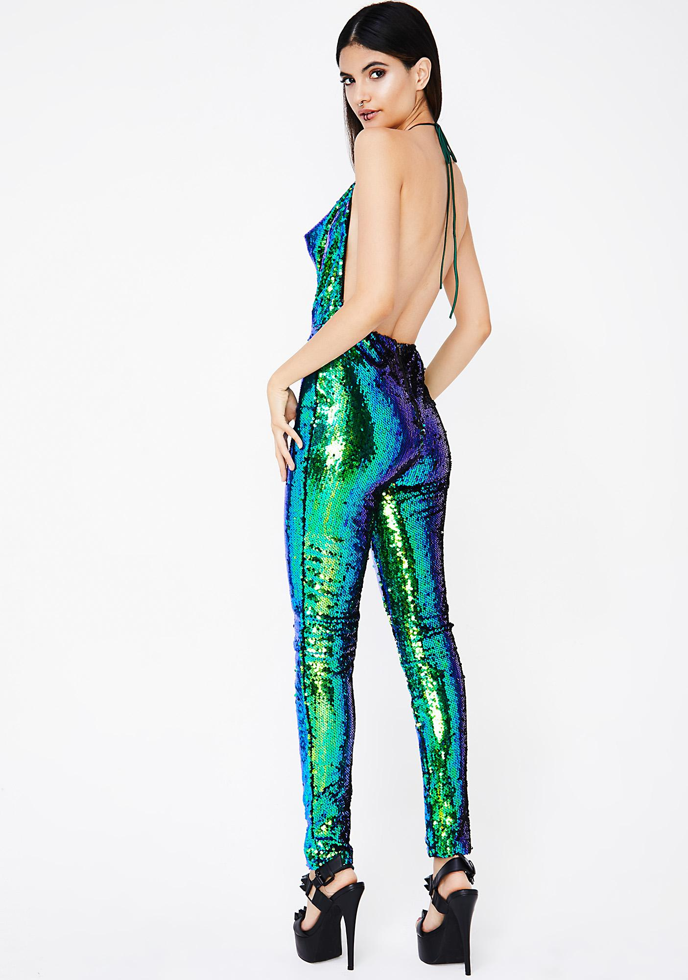 Ariel Sequin Jumpsuit