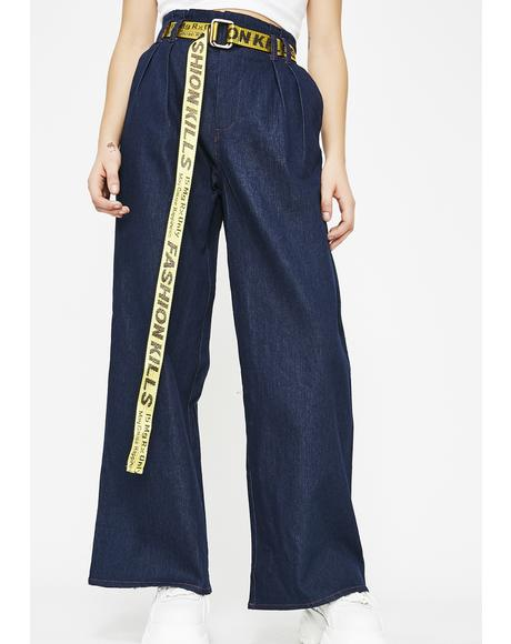 Independent Bish Wide Leg Jeans