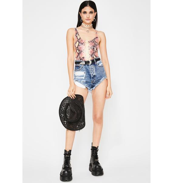 Killa Swag Knit Bodysuit