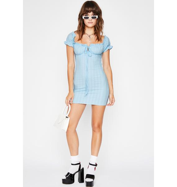 Wavy Oh Behave Mini Dress