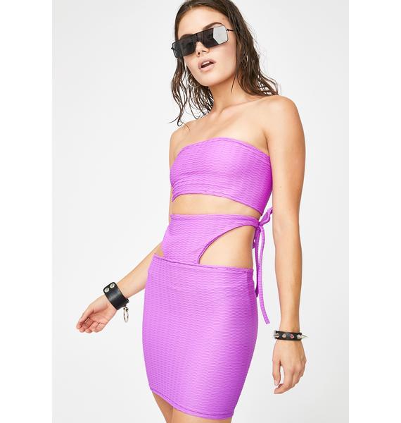 Riccetti Clothing Got Purp Skirt Set