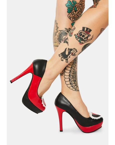Wonderland Of Love Platform Heels