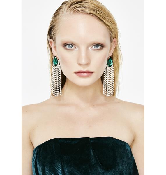Glitz N' Glamour Jewel Earrings