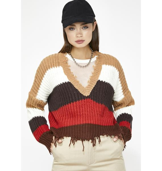 Cup Of Jane Stripe Sweater