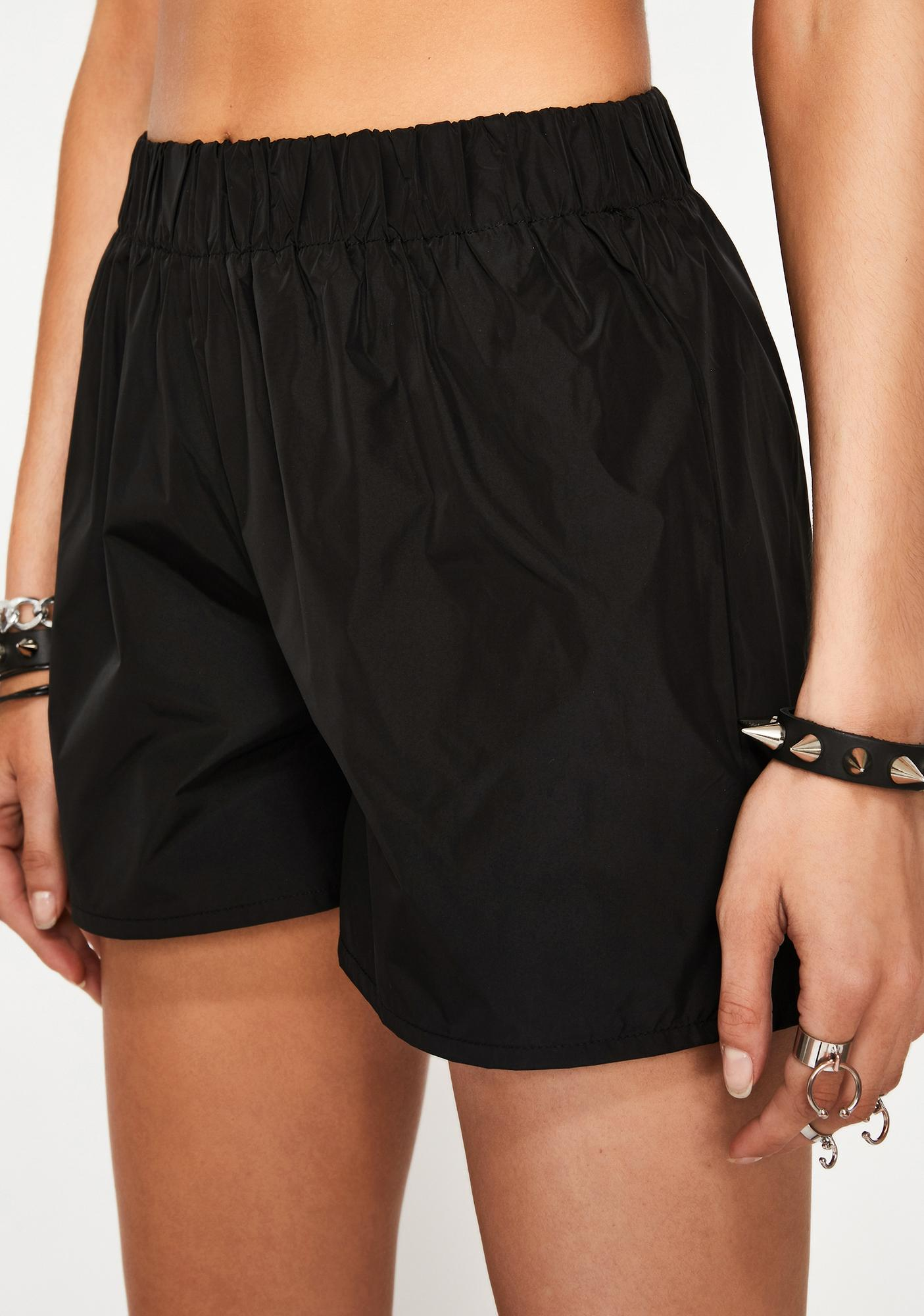Luna Alley Cat Nylon Shorts