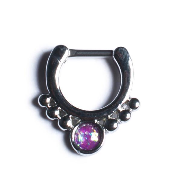 Crown Jewels Septum Ring