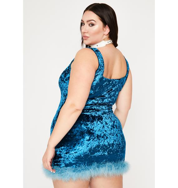 I Still Look Pretty Velvet Dress
