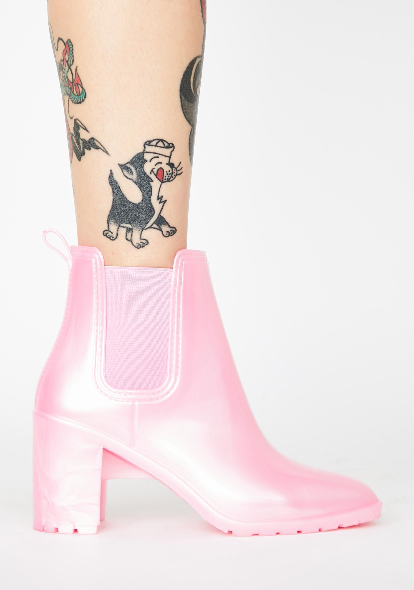 Sugar Thrillz In Season Rain Boots