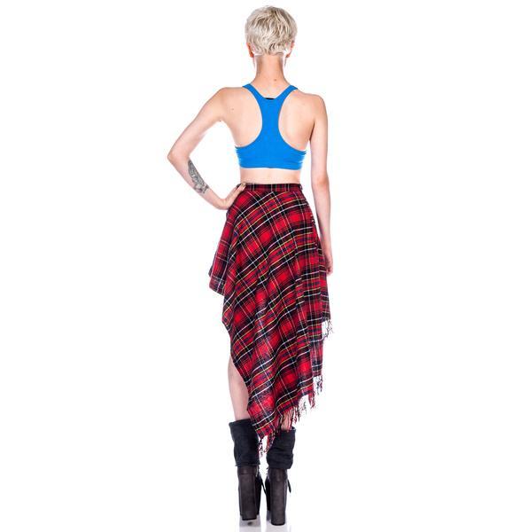 HLZBLZ x Belle of the Brawl Get Down Skirt