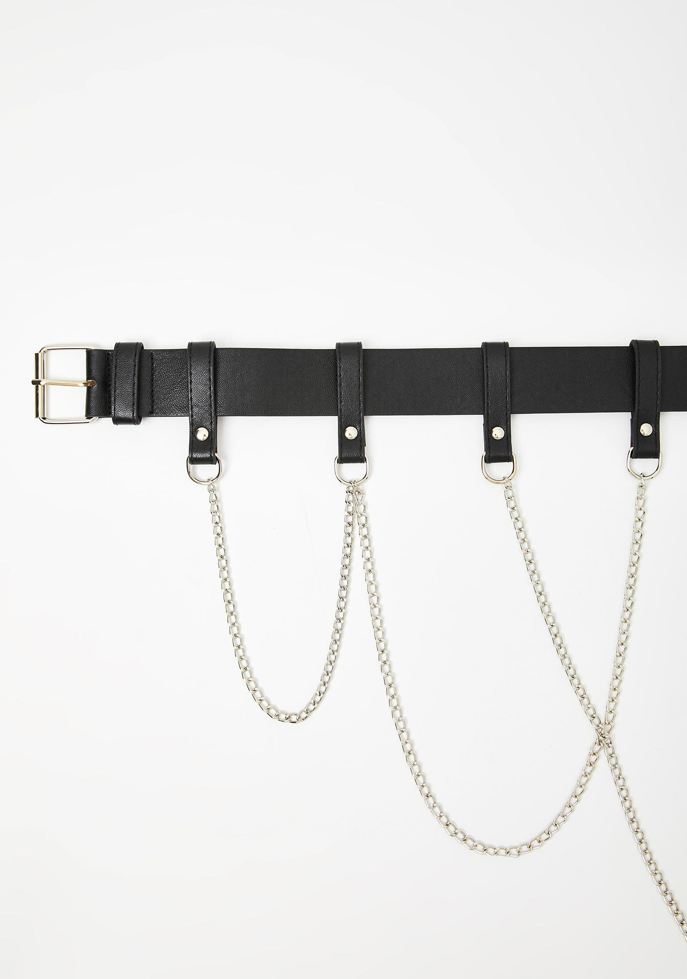 Sorry Not Sorry Chain Belt