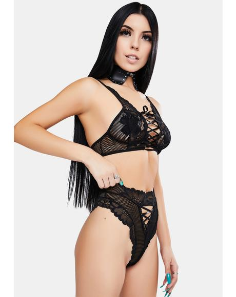 Lace Ladies Lingerie Set