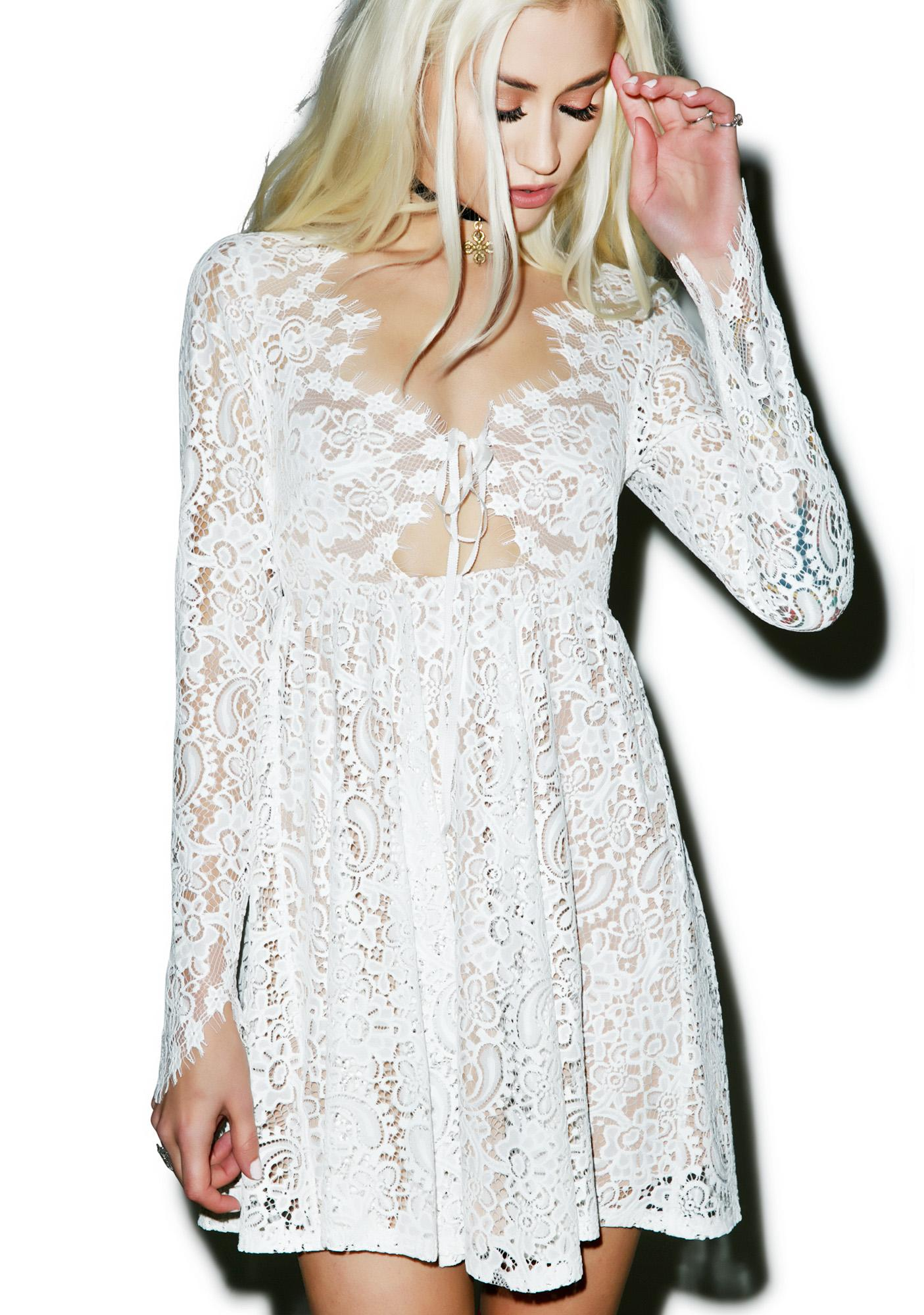 For Love & Lemons Charlie Mini Dress