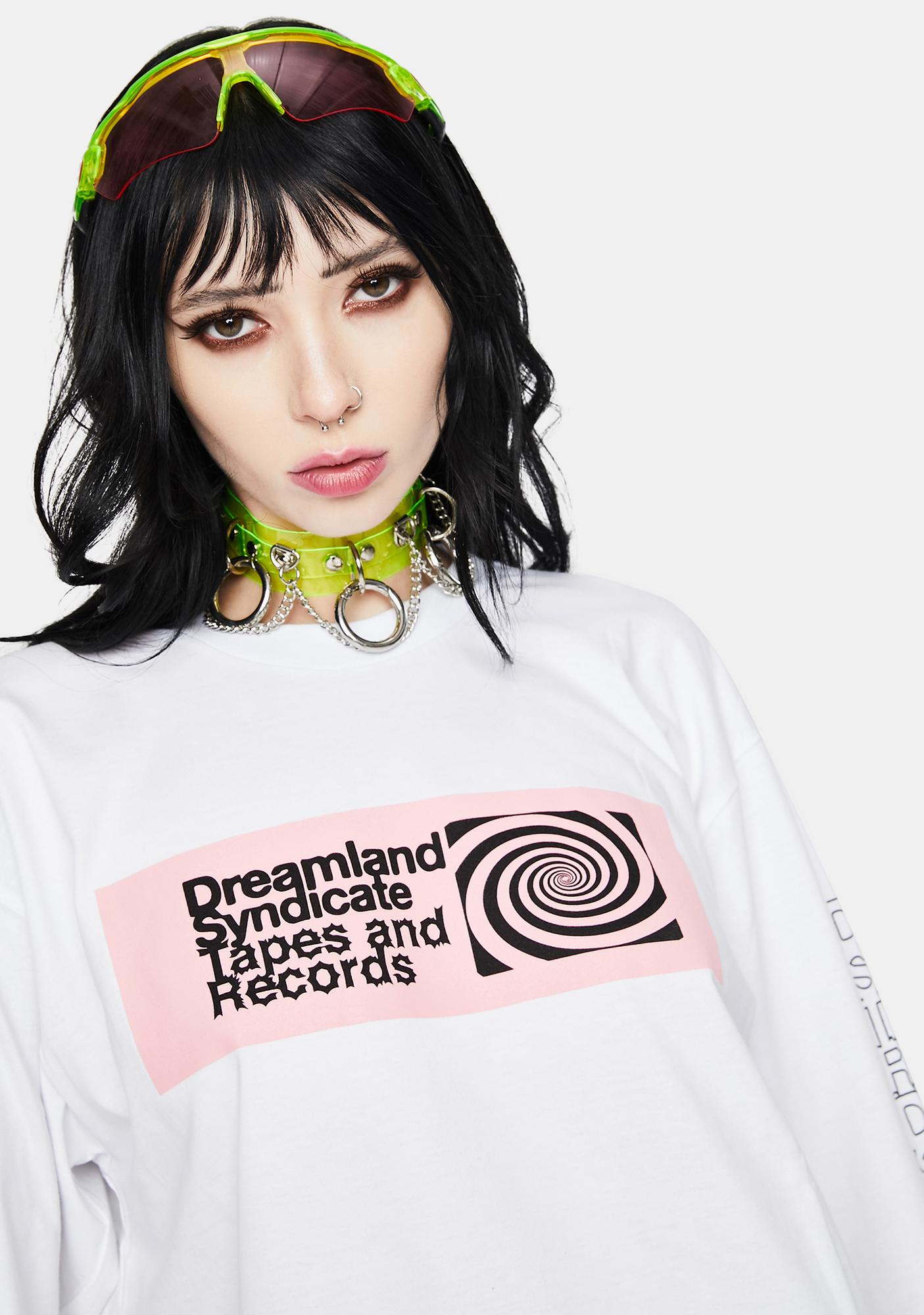 Dreamland Syndicate Spiral Long Sleeve Graphic Tee