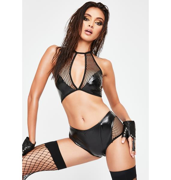 Private Dance Bralette and Boy Short Set