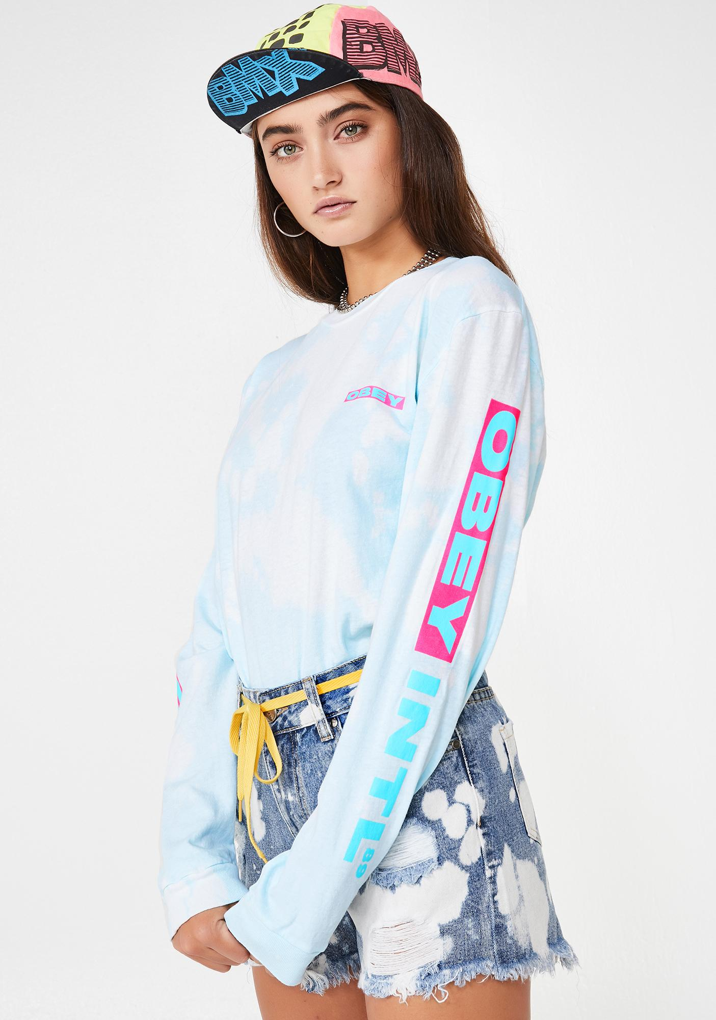 Obey OBEY Intl 89 Long Sleeve T-Shirt