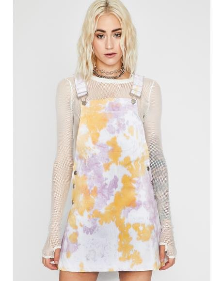Splatter Scene Denim Skirtalls