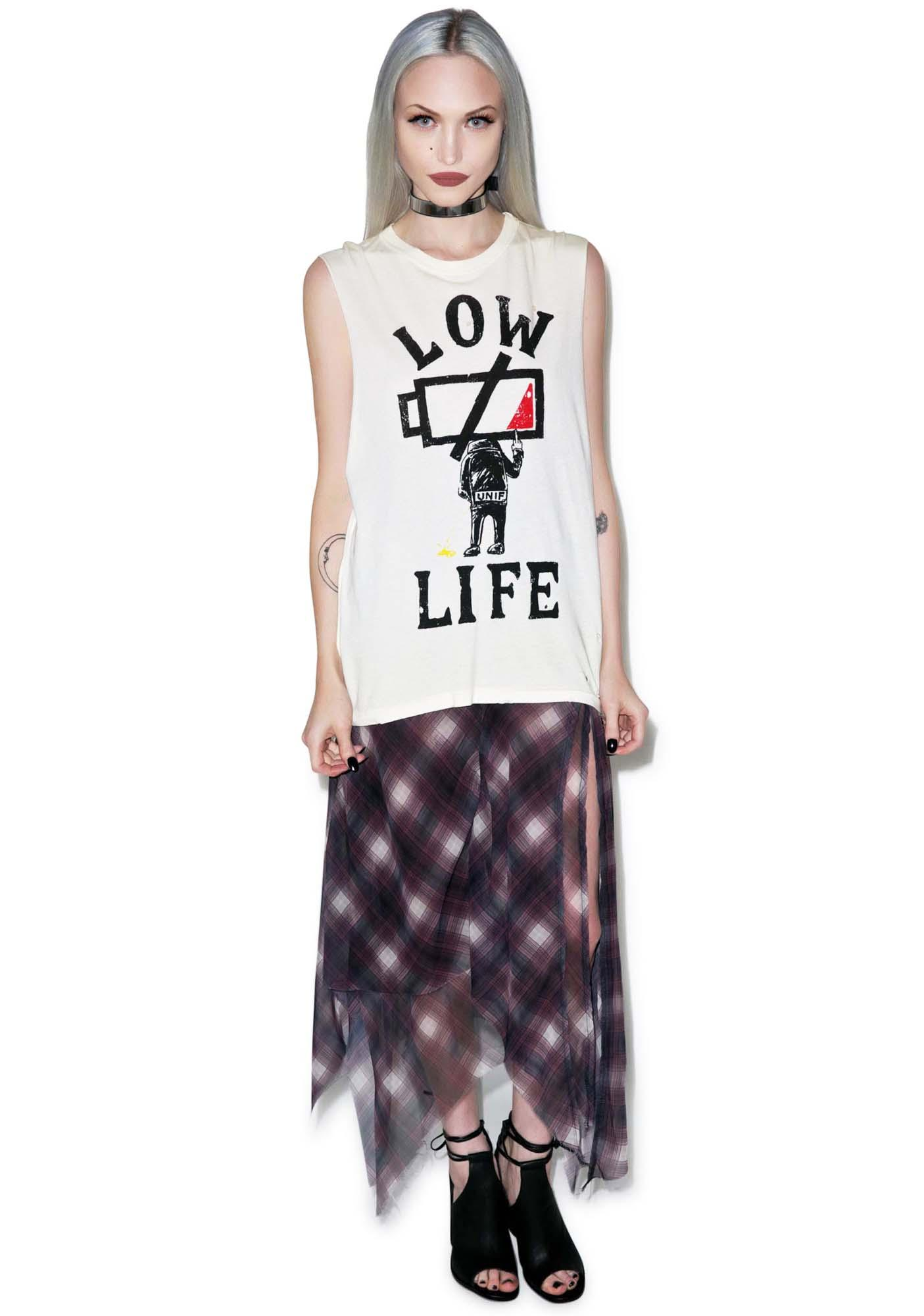 UNIF Low Life Sleeveless Tee