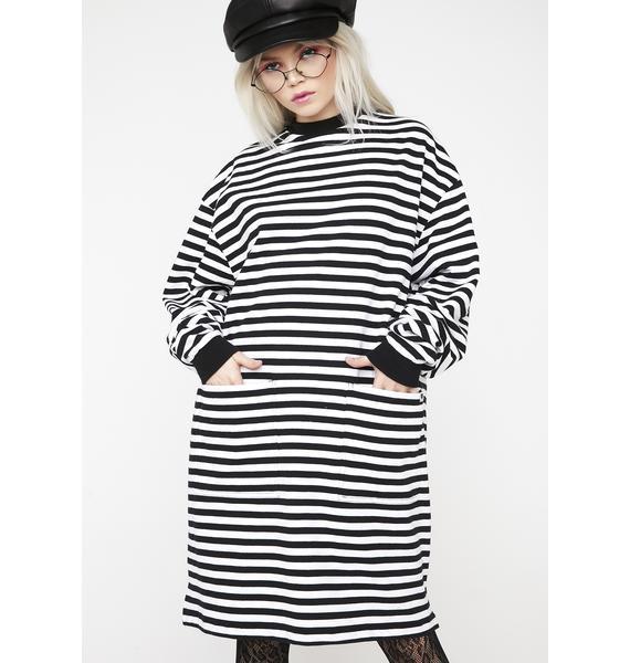 Lazy Oaf LO Pocket Sweater Dress