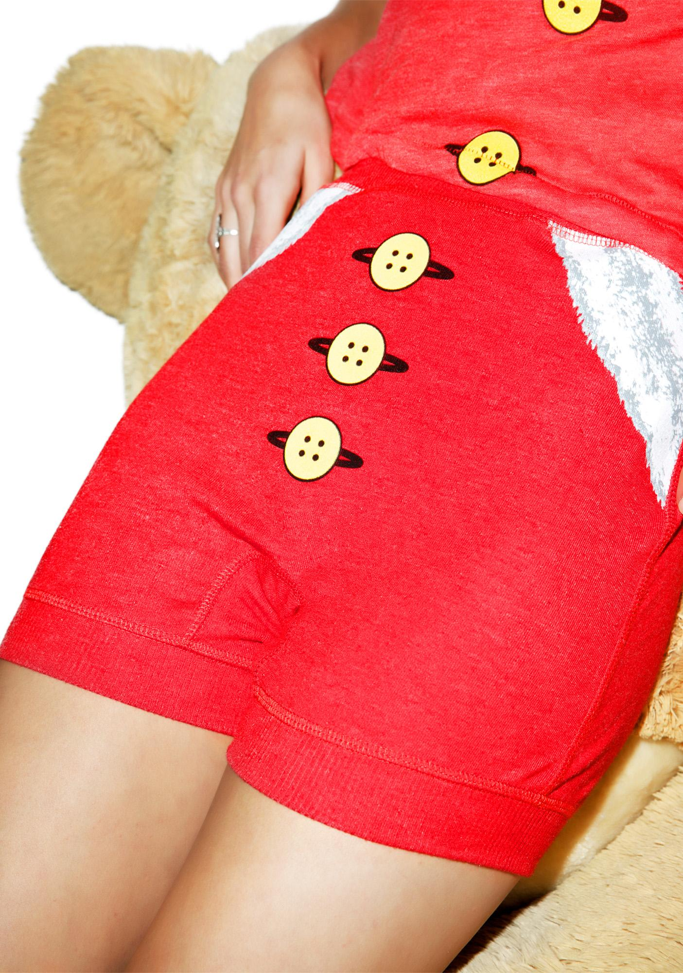 Wildfox Couture Mrs. Claus Verona Boxers