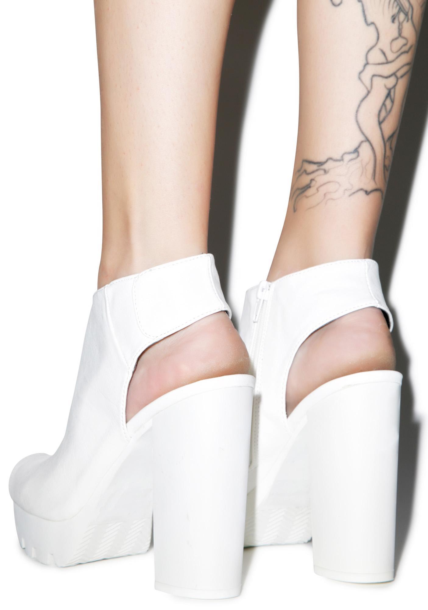 Peep Show Slingback Sandals