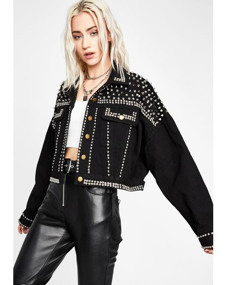 Wicked Ready To Rock Studded Jacket