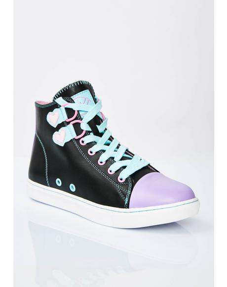 Chelsea Blackout Pastel Sneakers